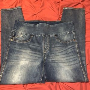 Rock & Republic Denim Rx Cropped Skinny Jeans EUC